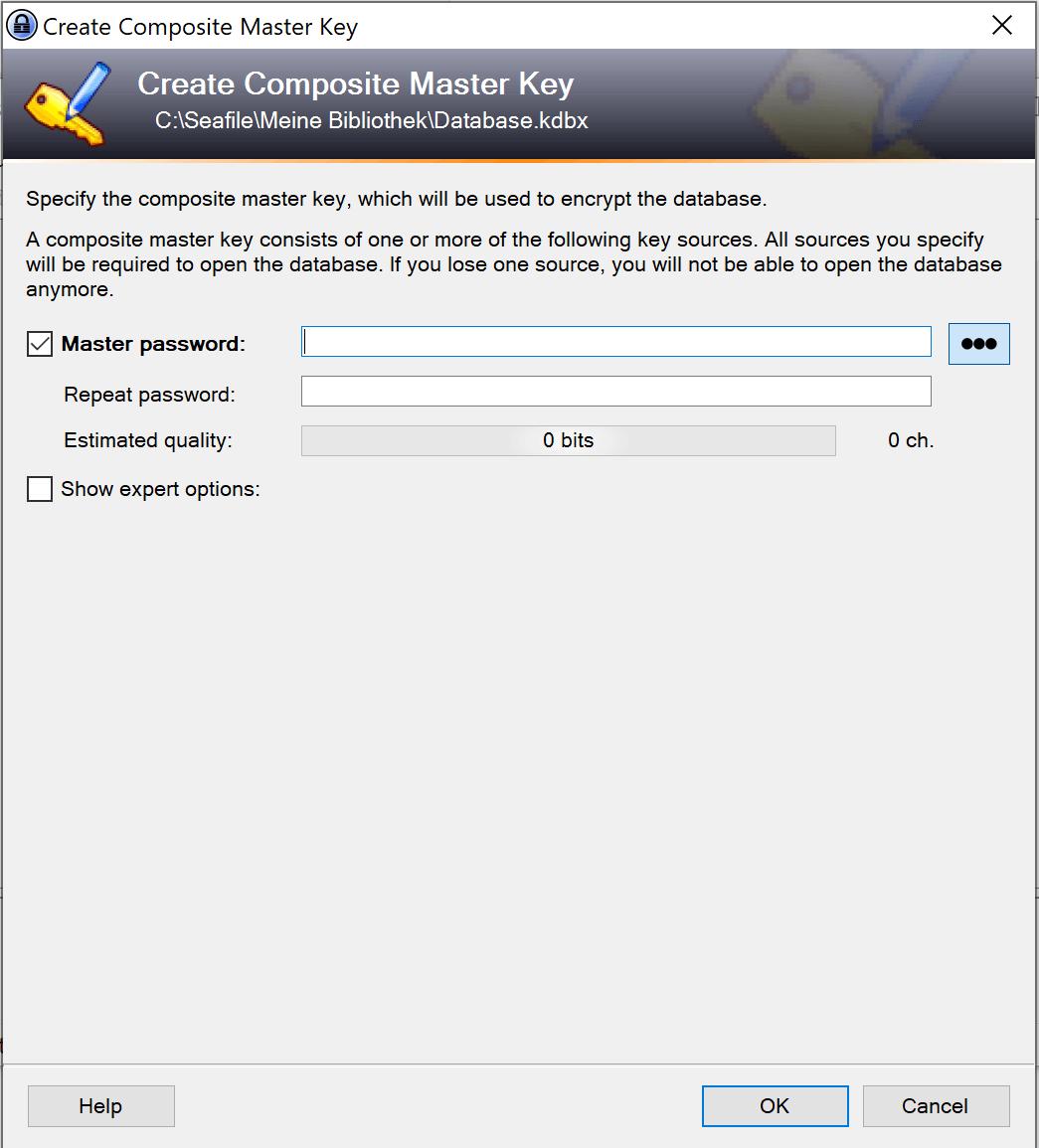 4. Wie Sie Ihre KeePass Datenbank sichern - WIN