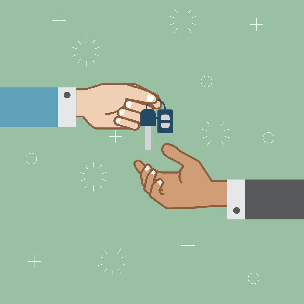 Schlüsselübergabe: Verpflichtungen des Arbeitgebers im Bezug auf Dienstwagen