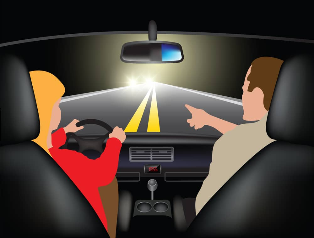 Risiken beim Autofahren in der Nacht